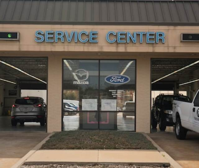 Autonation Ford Fort Worth Service Center Amenities