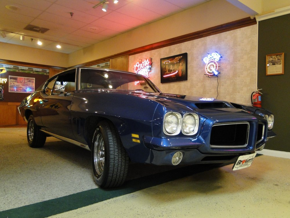 medium resolution of 1972 pontiac lemans sold