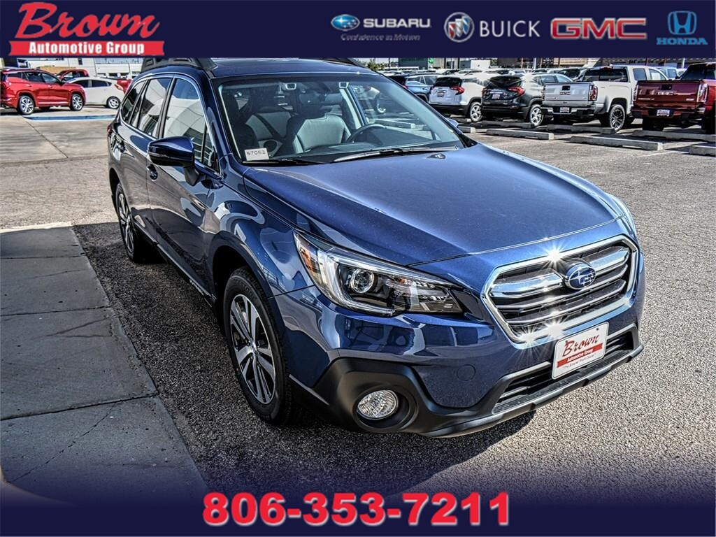hight resolution of new 2019 subaru outback 2 5i limited suv in amarillo s7053 brown automotive group