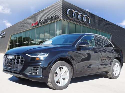 small resolution of new 2019 audiq8 3 0t premium suv
