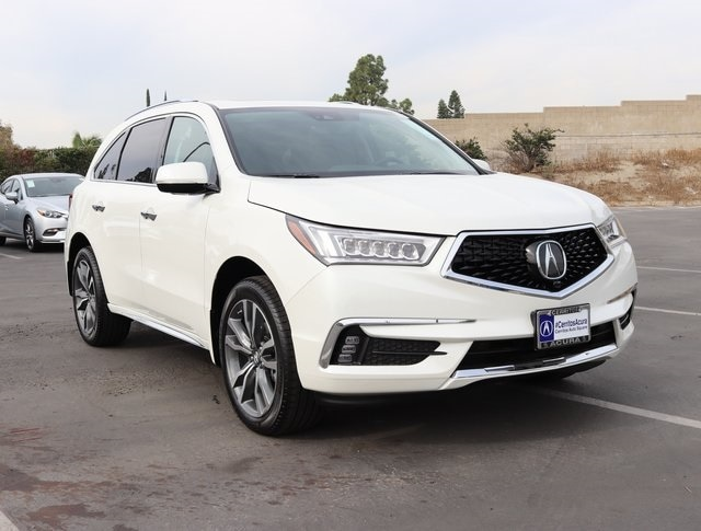 New 2019 Acura MDX with Advance Package SUV For SaleLease