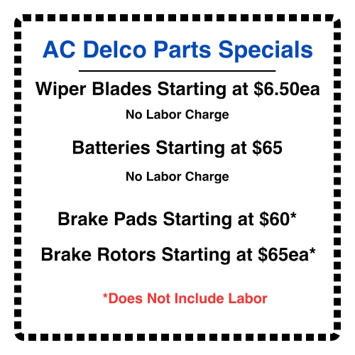 Car Service Coupons & Auto Repair Specials in Peoria