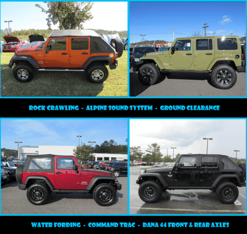 small resolution of customize your jeep