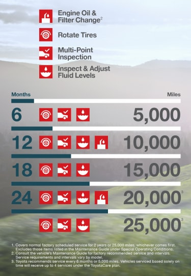 vehicle maintenance chart