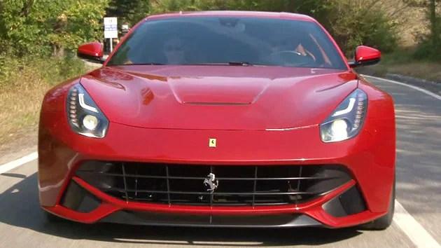 New Engine Front Ferrari
