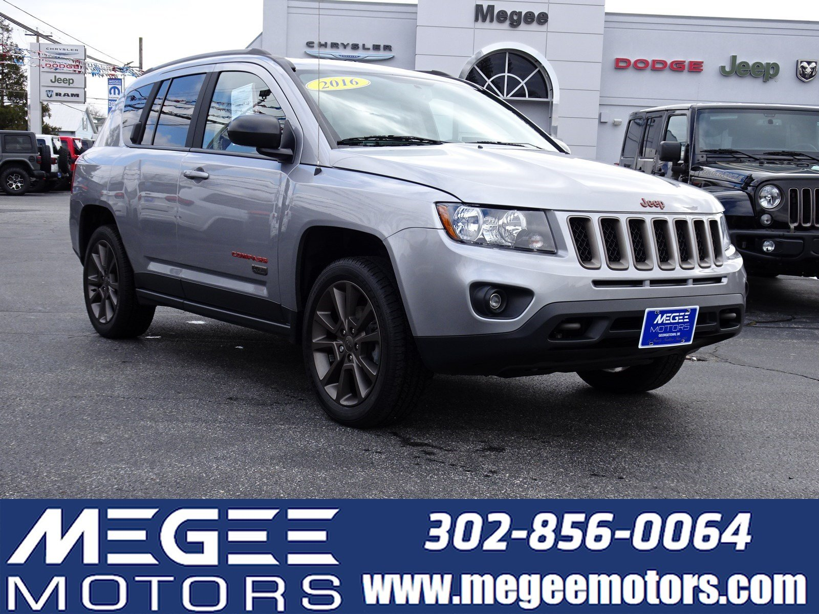 Used 2016 Jeep Compass 75th Anniversary For Sale Georgetown De