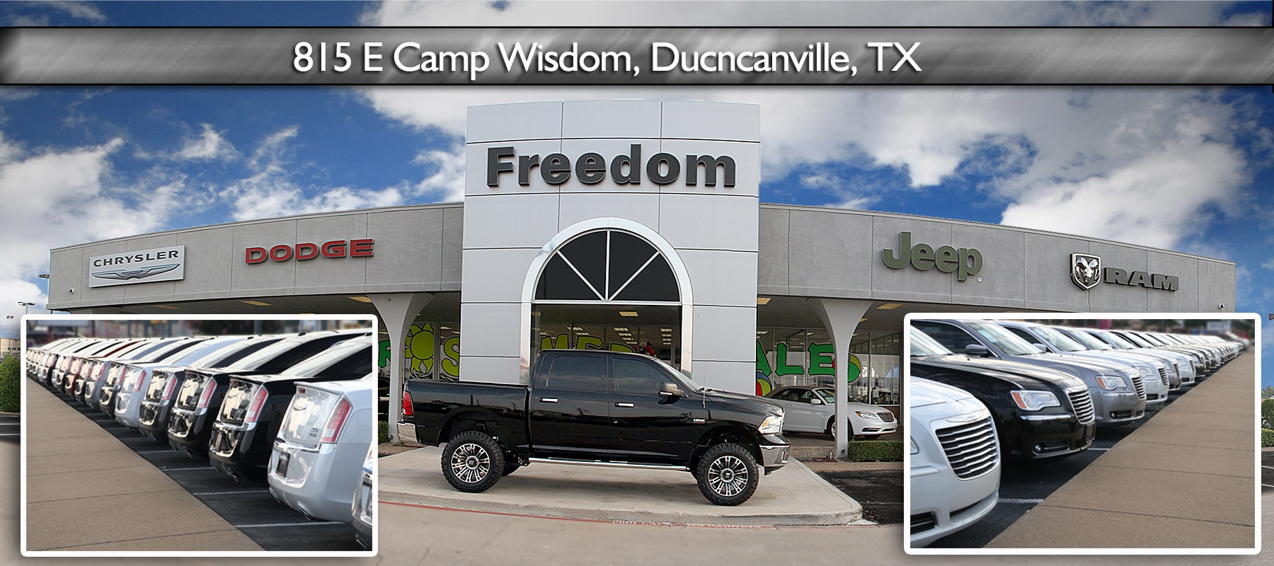 New & Used Cars In Duncanville, Tx  About Freedom Dodge