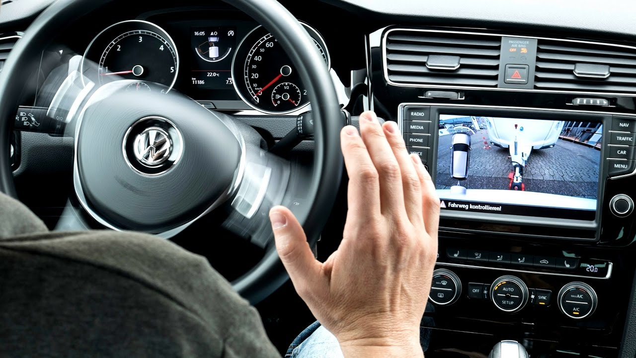 hight resolution of volkswagen collision prevention system