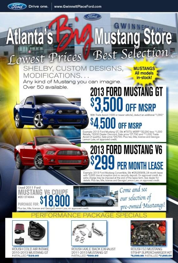 Ford Motor Credit Atlanta Ga : motor, credit, atlanta, Atlanta, Mustang, Store, Lowest, Prices, Roush, Performance, Parts