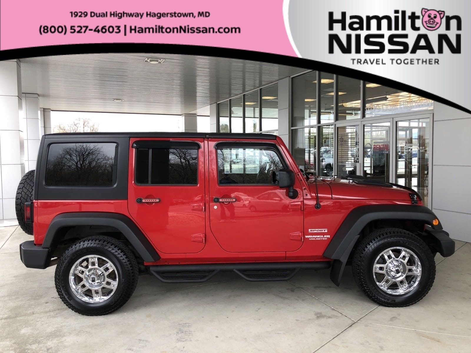 hight resolution of used 2012 jeepwrangler unlimited sport suv
