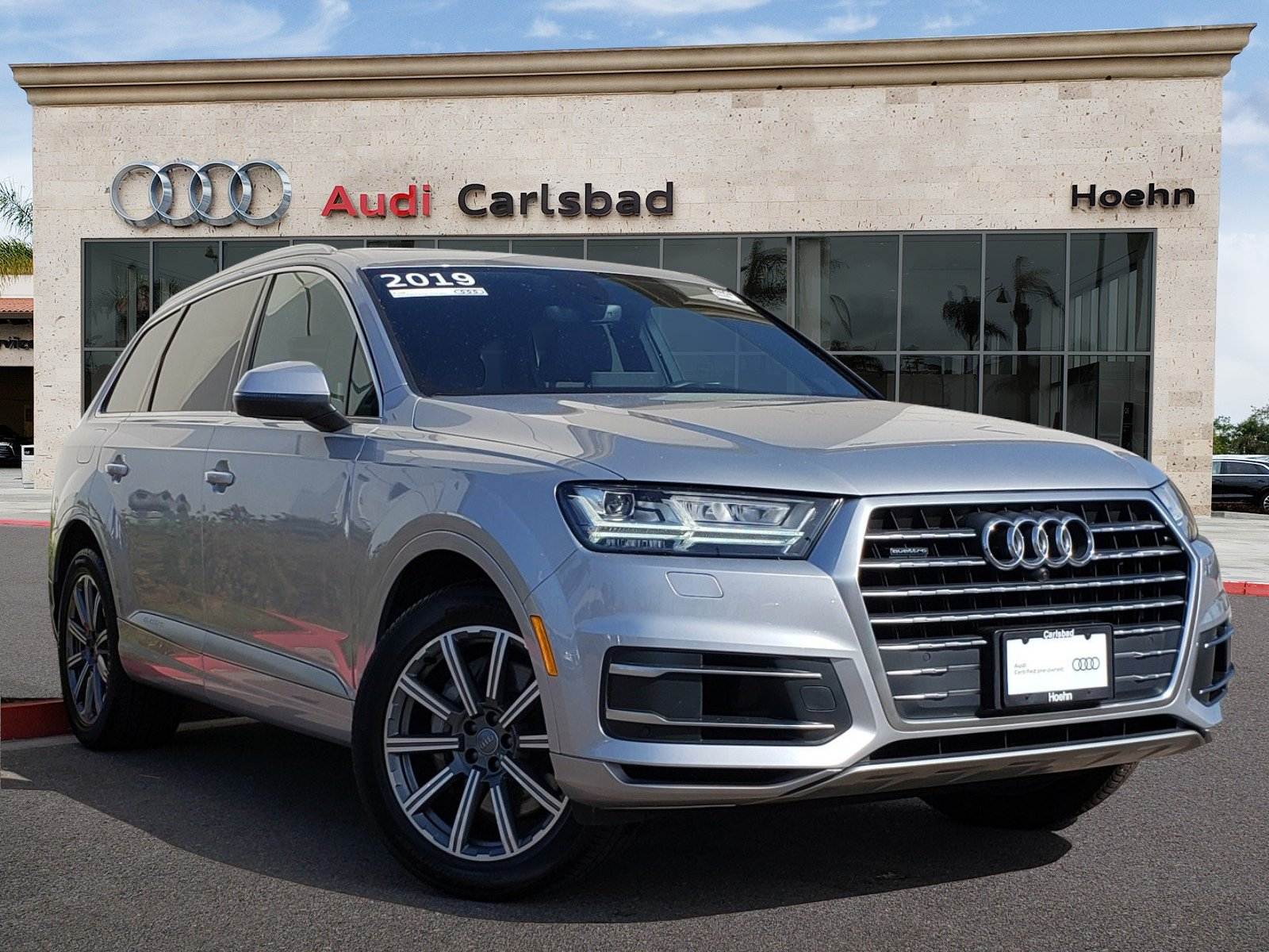 hight resolution of pre owned 2019 audi q7 3 0t q