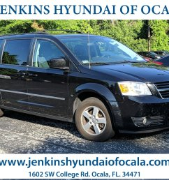 used 2010 dodge grand caravan sxt van for sale ocala fl [ 1600 x 1200 Pixel ]