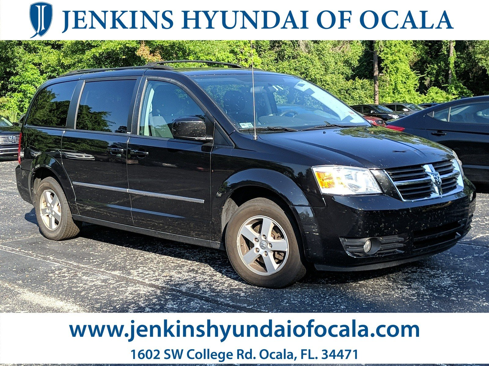 hight resolution of used 2010 dodge grand caravan sxt van for sale ocala fl