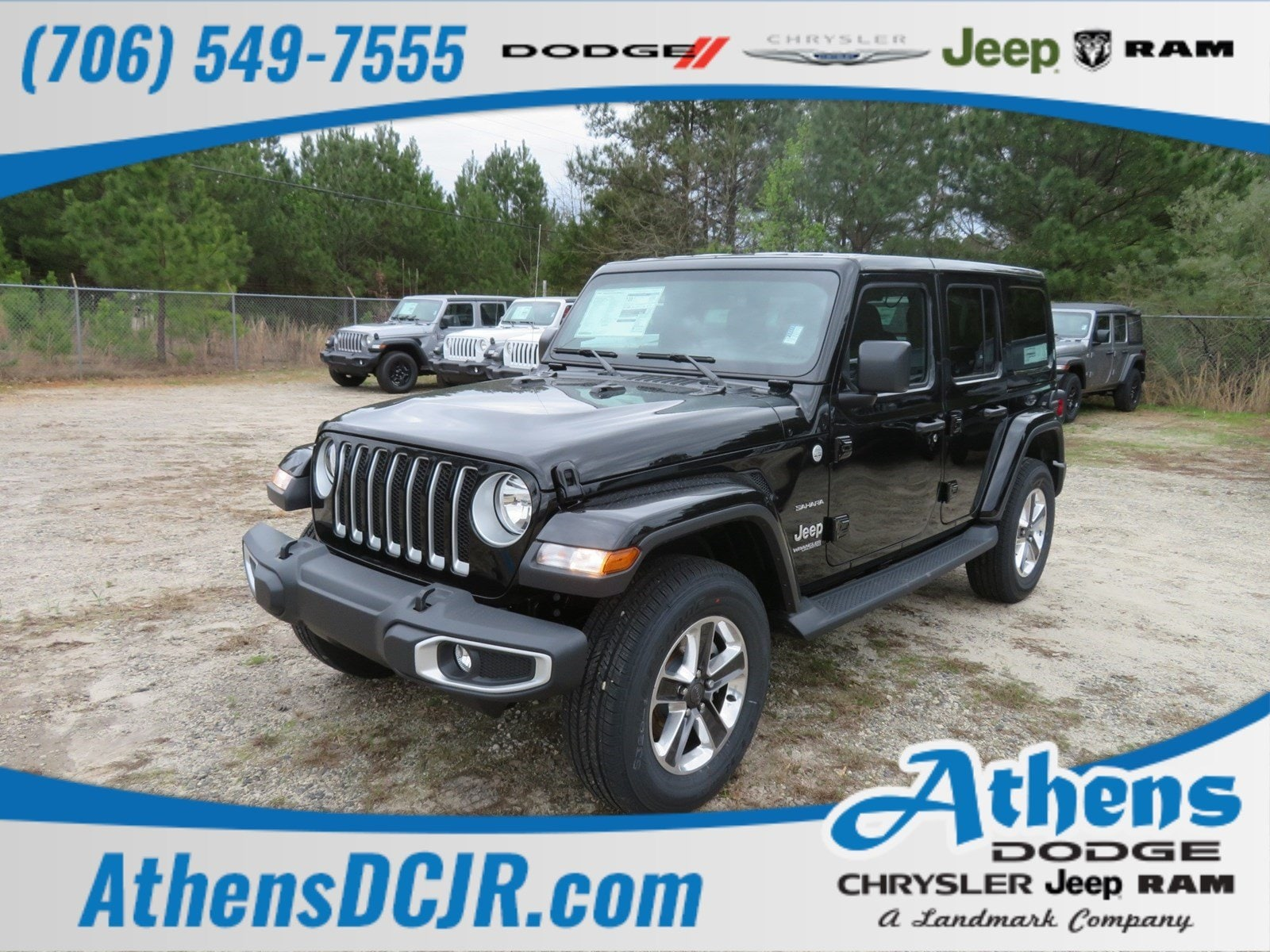 hight resolution of 2019 jeep wrangler unlimited sahara 4x4 for sale in athens ga