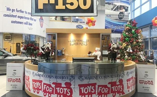 Toys For Tots Drop Off Location At Larry H Miller Super Ford