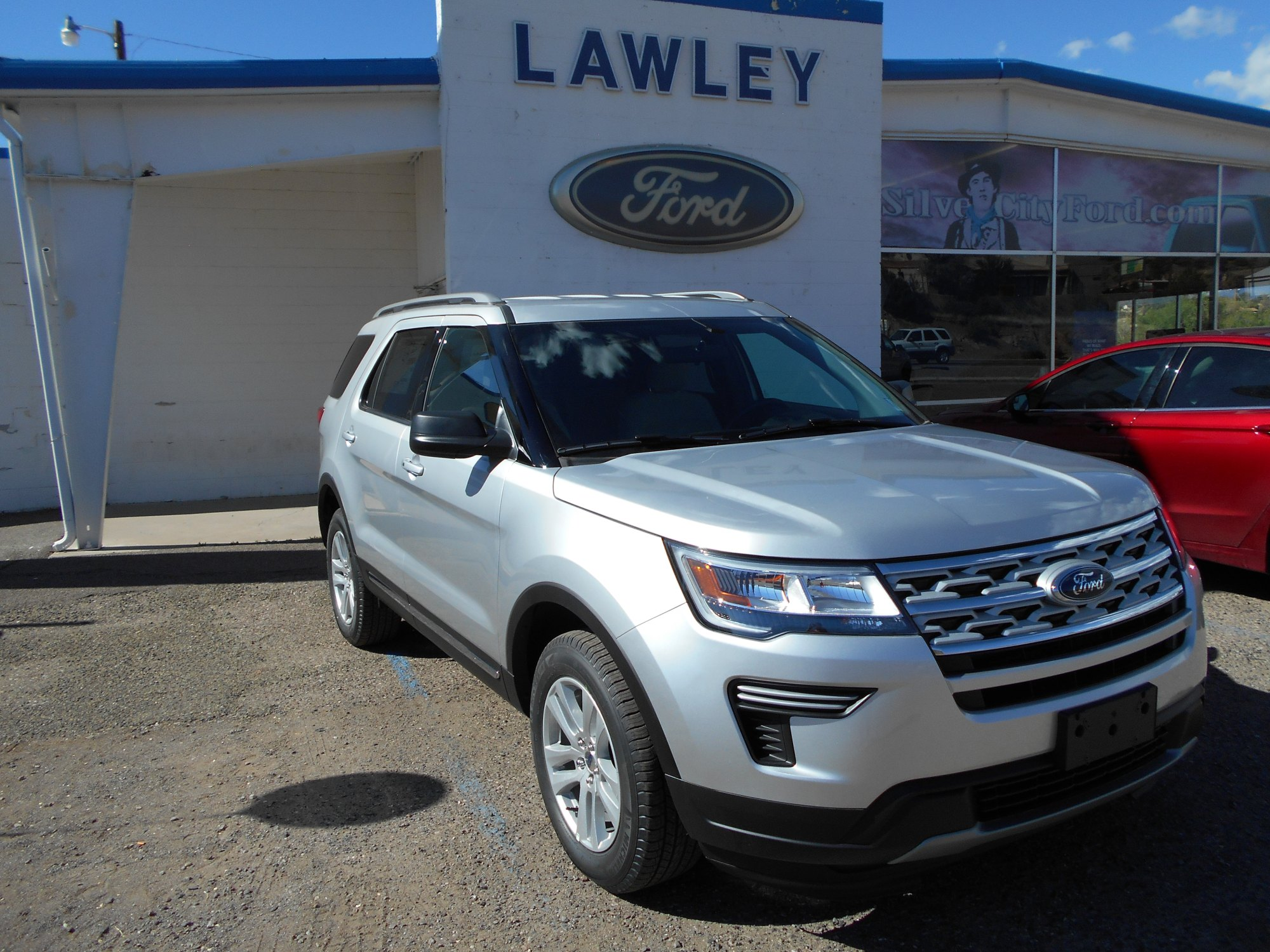 hight resolution of new 2019 ford explorer xlt suv ti vct v6 engine in silver city nm