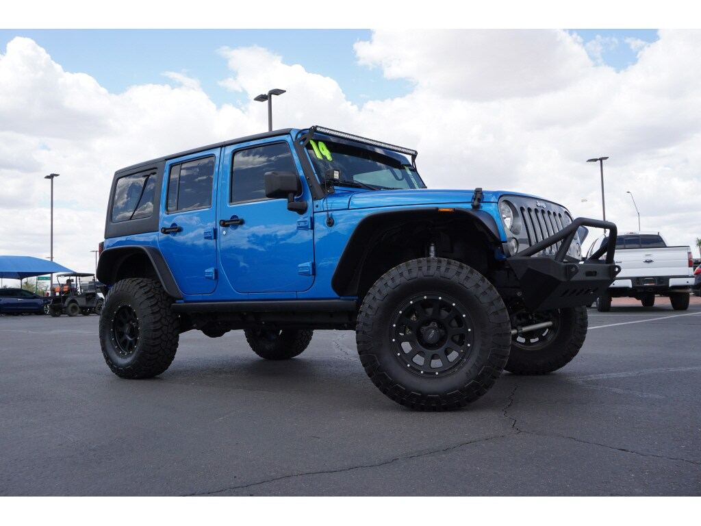 hight resolution of used 2014 jeepwrangler unlimited sport 4x4 suv
