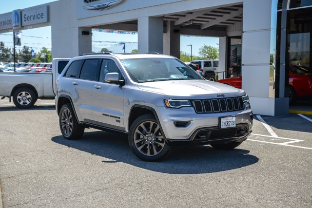 Used 2016 Jeep Grand Cherokee 4wd 4dr Limited 75th Anniversary