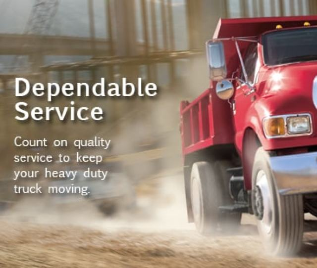 Our Heavy Truck Service Department Specializes