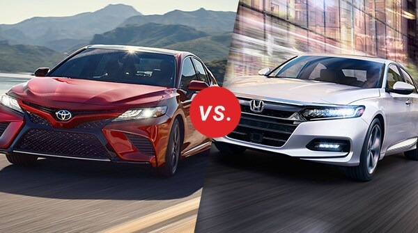 all new camry vs accord grand avanza silver metallic comparison 2018 toyota honda longo