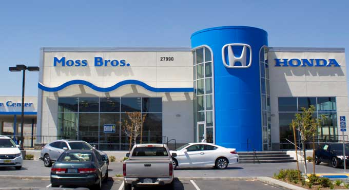 Hours & Directions To Moss Bros Honda In Moreno Valley