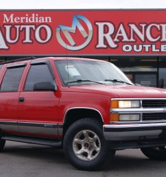 used 1997 chevrolet tahoe for sale at auto ranch group vin 1gnek13rxvj440137 [ 3872 x 2592 Pixel ]