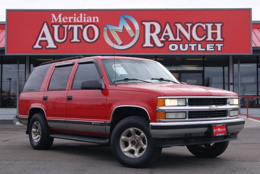 medium resolution of used 1997 chevrolet tahoe for sale at auto ranch group vin 1gnek13rxvj440137