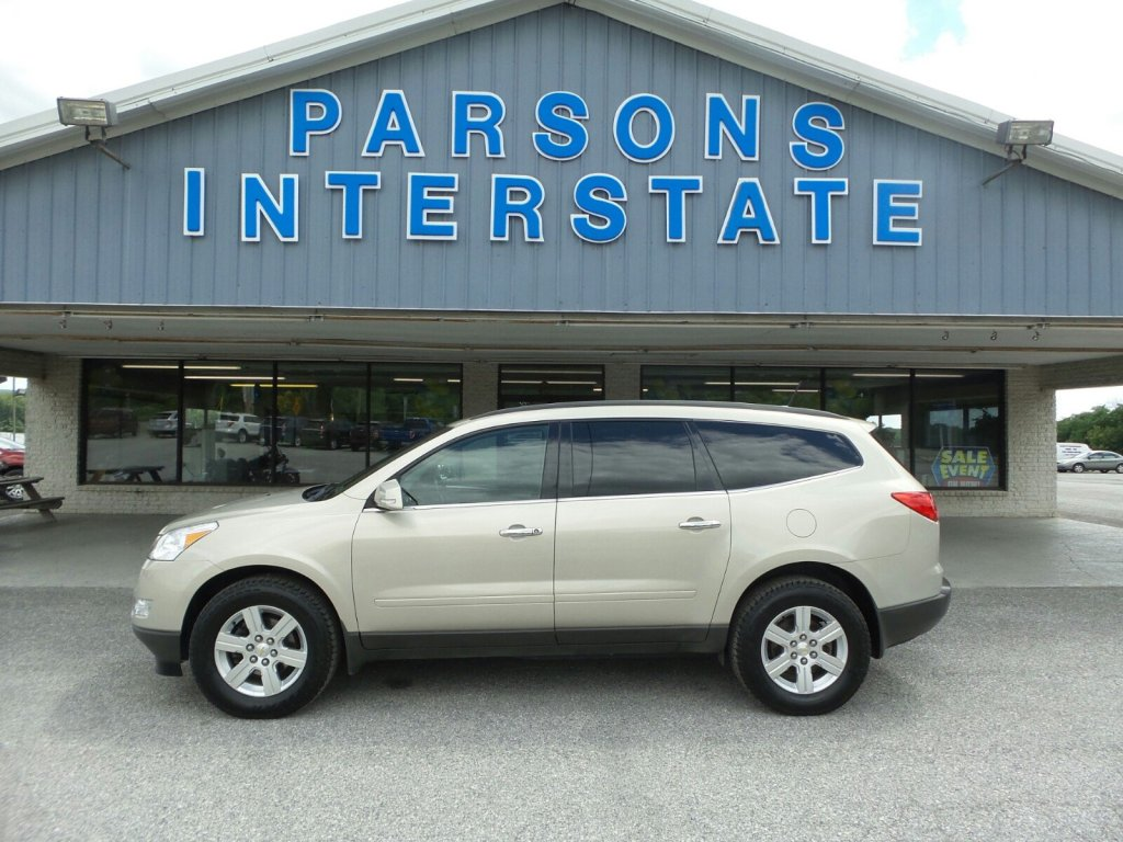 used 2012 chevrolet traverse for sale at parsons interstate ford llc vin 1gnkvged9cj194046 [ 1024 x 768 Pixel ]