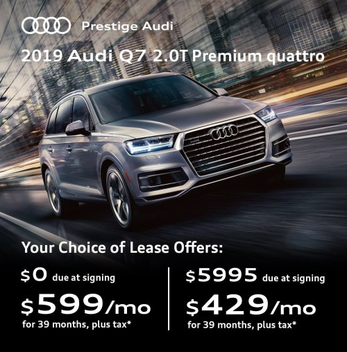 small resolution of  2019 audi q7 lease deals offers at prestige audi near