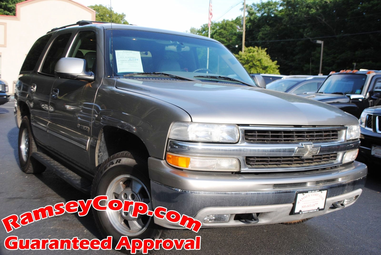 hight resolution of used 2001 chevrolet tahoe for sale at ramsey corp vin 1gnek13t31r141645