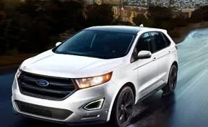 Ford Edge Interior Dimensions