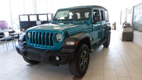 small resolution of new 2019 jeep wrangler unlimited sport s 4x4 for sale in monticello ny