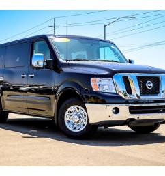 new 2018 nissan nv passenger nv3500 hd for sale lease santa maria ca  [ 1024 x 768 Pixel ]