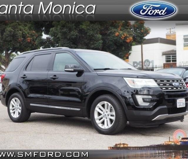 Used 2016 Ford Explorer Xlt Suv In Santa Monica