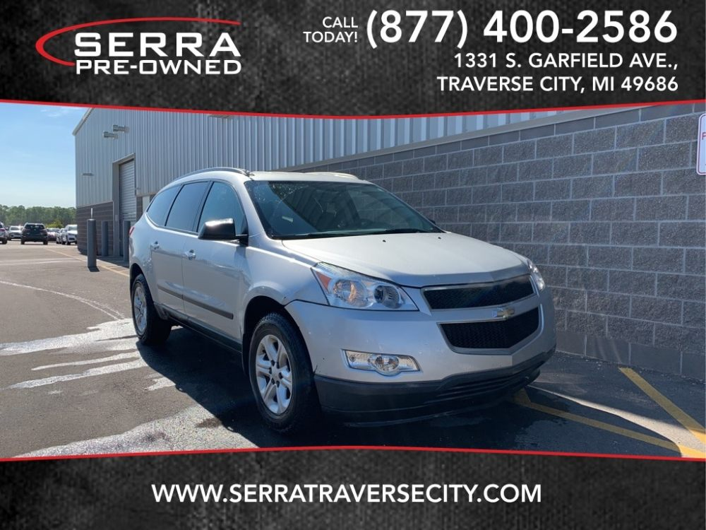 medium resolution of used 2012 chevrolettraverse ls suv