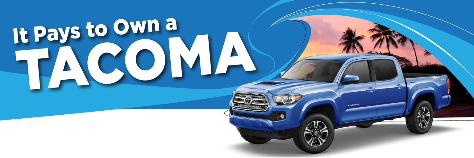Servco Toyota Windward - Tacoma Loyalty Offer
