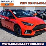 New 2018 Ford Focus Rs For Sale At Shamaley Auto Group Vin Wf0dp3th2j4127792