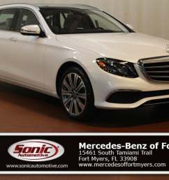 new 2019 mercedes benz e class for sale in fort myers fl stock ka585416 [ 1600 x 1067 Pixel ]