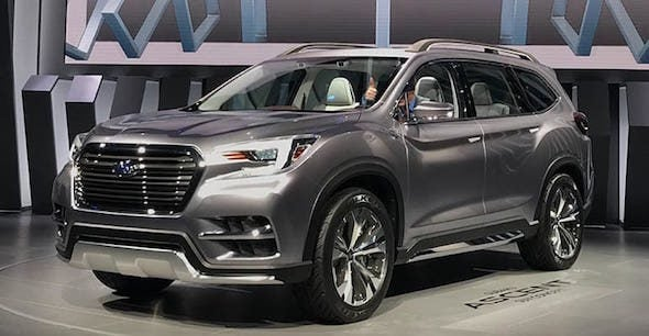 suv with 3 rows and captains chairs black banquet chair covers subaru blog latest news of glendale the ascent is an all new model comes three seating available bench or captain s in second row built