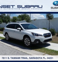 new 2019 subaru outback 3 6r touring for sale in sarasota fl [ 1600 x 1200 Pixel ]