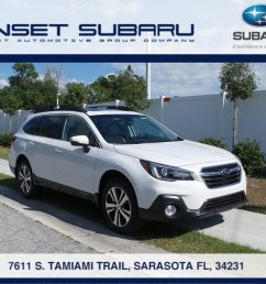 new 2019 subaru outback 3 6r limited for sale in sarasota fl [ 1600 x 1200 Pixel ]