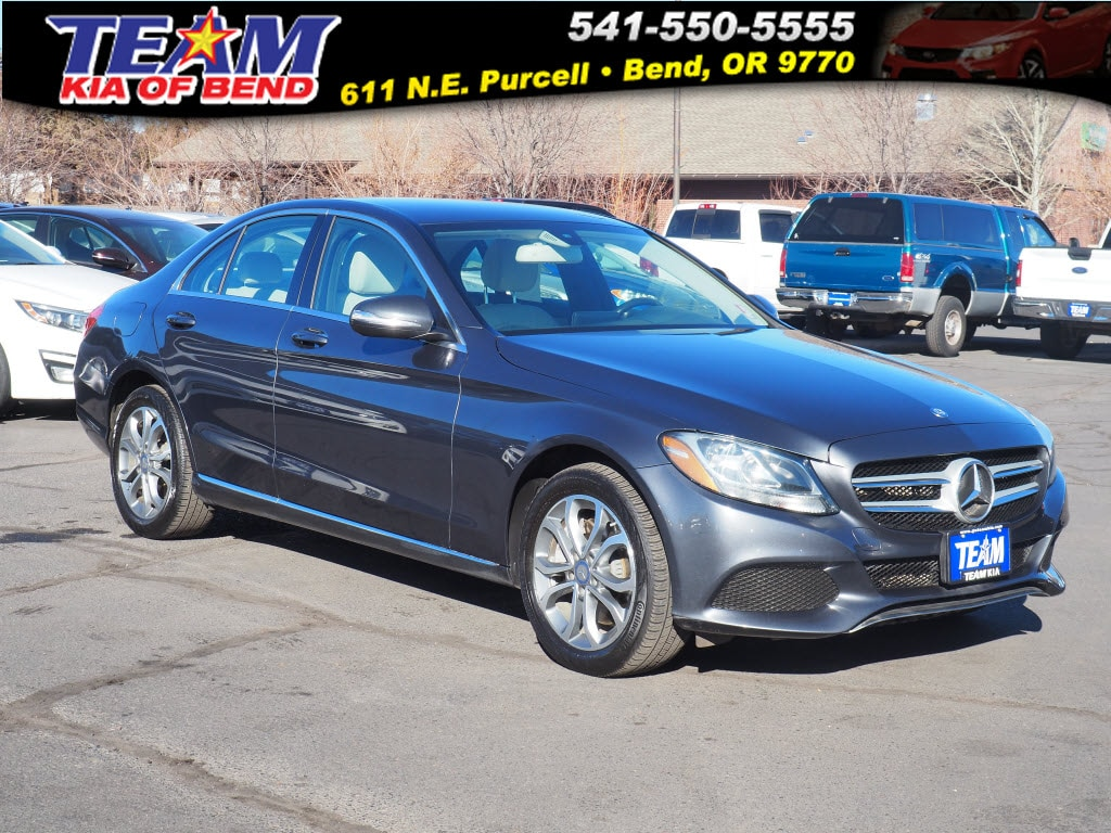 hight resolution of 2015 mercedes benz c class c 300 4matic for sale in bend or