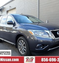 certified pre owned 2014 nissanpathfinder sv 2wd sv [ 1600 x 1200 Pixel ]