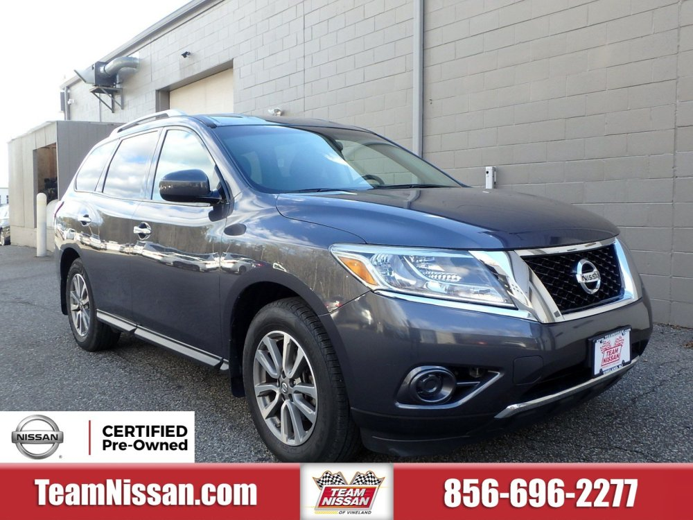 medium resolution of certified pre owned 2014 nissanpathfinder sv 2wd sv