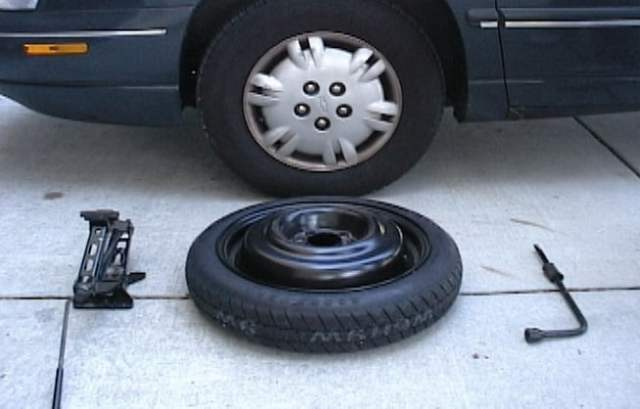 Image result for Changing A Flat Tire