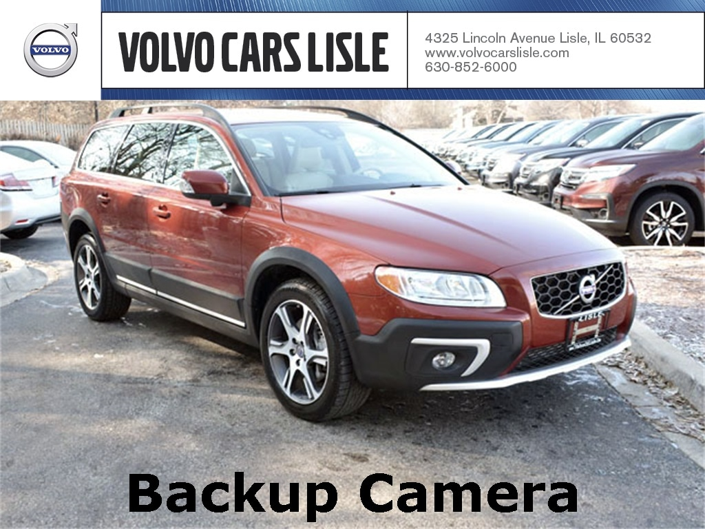 hight resolution of used 2015 volvo xc70 t6 premier plus for sale chicago lisle il v90288a