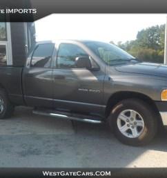 2004 dodge ram 1500 st truck quad cab rwd [ 1600 x 1197 Pixel ]