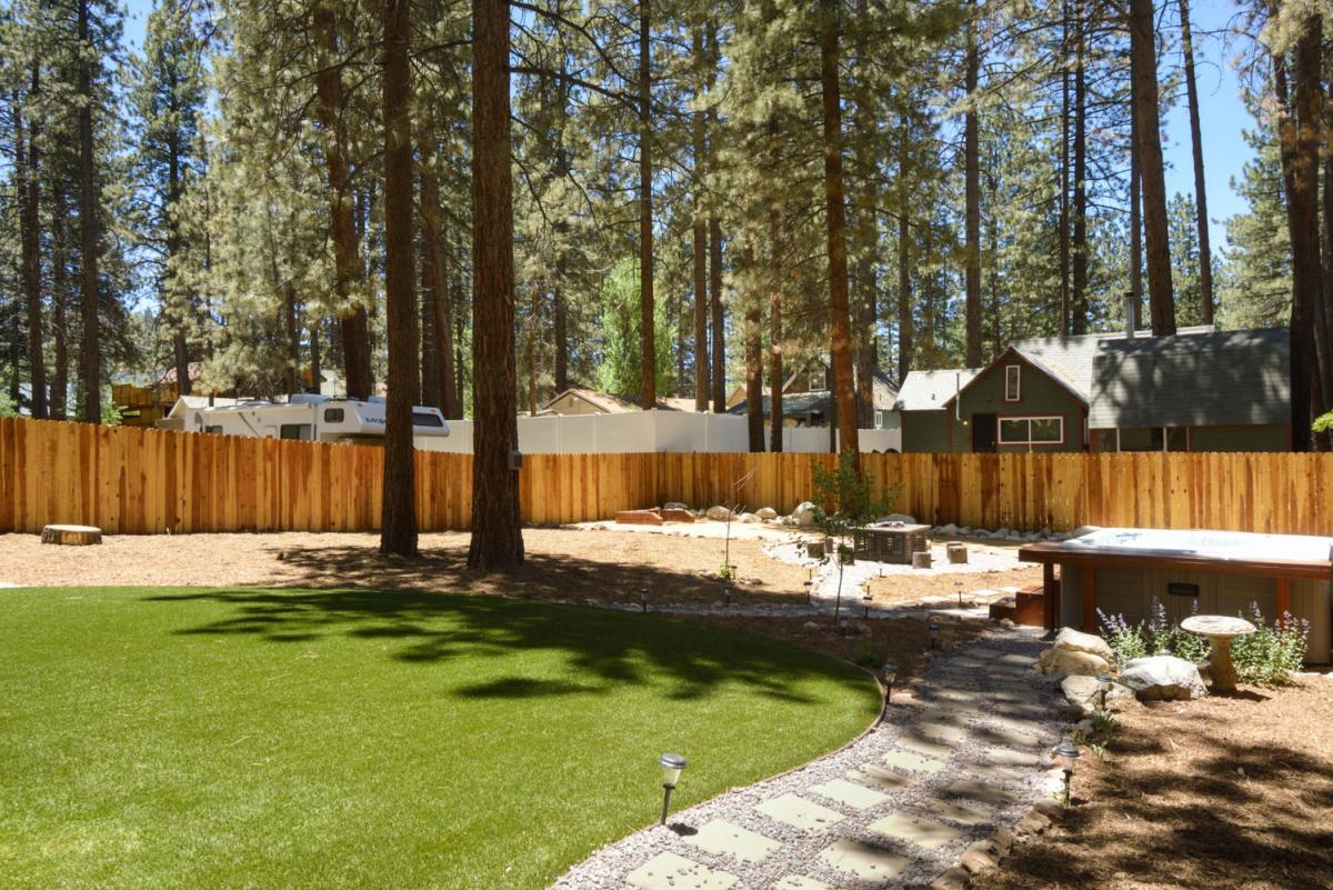 Outdoor Rec Space with Spa