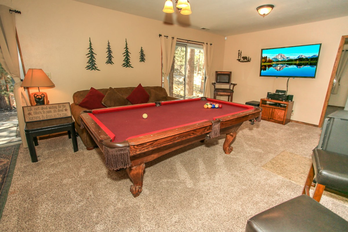 Downstairs Game-room