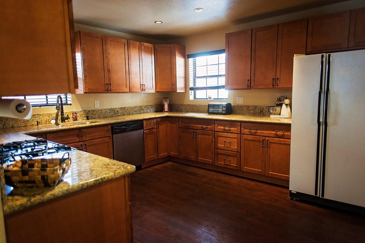 Open Cabin Kitchen 1